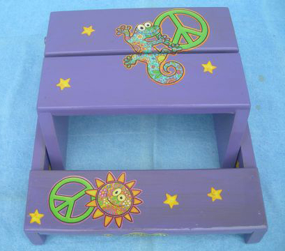 Gecko Step Stool and Child's Seat